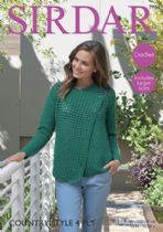 Sirdar Country Style 4ply - 7994 Jacket Crochet Pattern